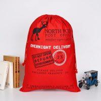 Cotton gift bag for Christmas 4