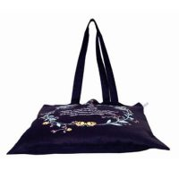 Eco-friendly canvas tote bag without gusset 2