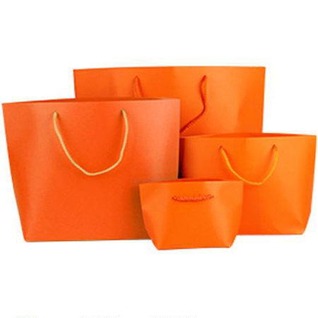 Colorful boat shaped paper bag 4