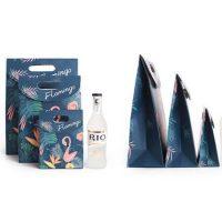Custom paper gift bag with logo 3