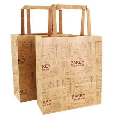 Food grade kraft paper bag for bread 1