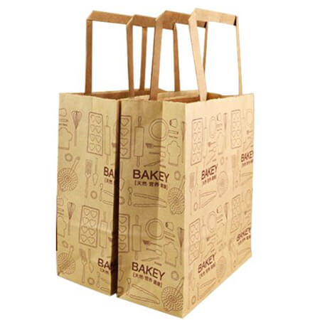 Food grade kraft paper bag for bread 4