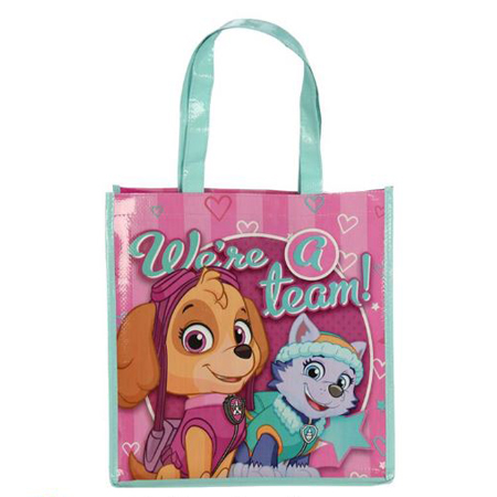 Cartoon PP woven tote bag for kids 2