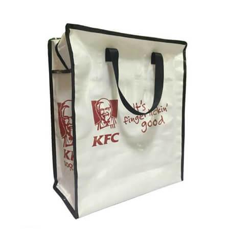 KFC PP Woven Zipper Bag 2