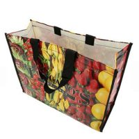 Reusable grocery pp woven shopping bags 2