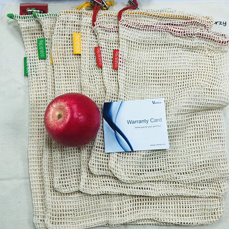 Cotton mesh bags for fruits and vegetables 1