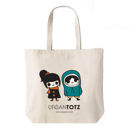 Cotton tote bags personalized 1