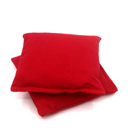 Empty (UNFILLED) Red Cornhole Bean Bags 2