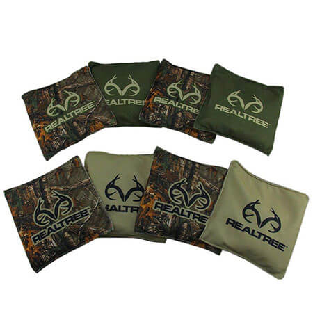 Printed cornhole bags with Standard ACAACO Regulation 4