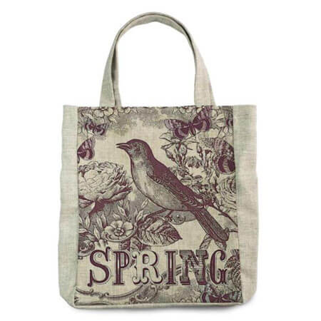Promotional canvas tote printed 2