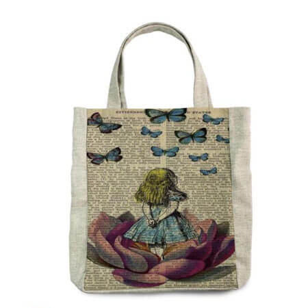 Promotional canvas tote printed 3
