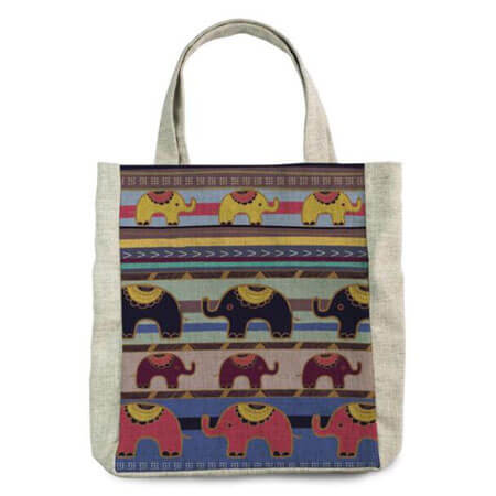 Promotional canvas tote printed 4