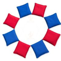 Solid Color Cotton Canvas Unfilled Cornhole Bags 2