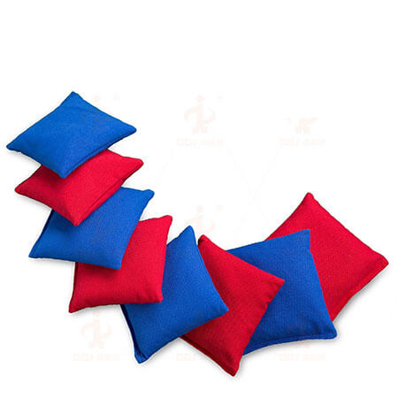 Solid Color Cotton Canvas Unfilled Cornhole Bags 3