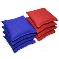 Solid Color Cotton Canvas Unfilled Cornhole Bags 4