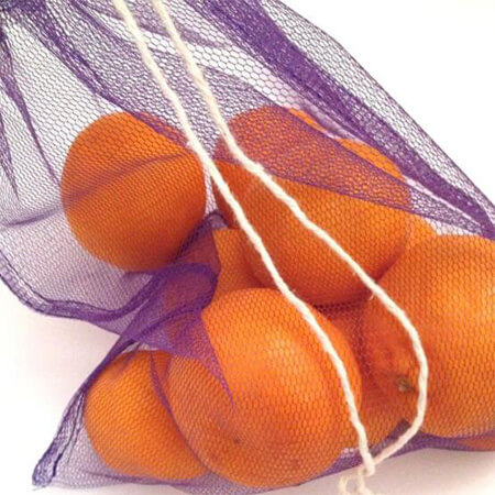 Mesh reusable produce bags for fruit & vegetables 4
