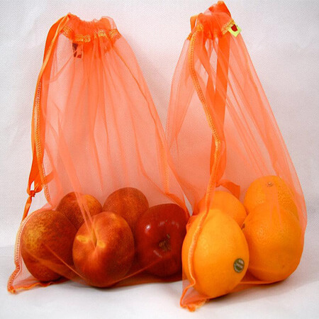 Nylon eco-friendly netting grocery bags 1