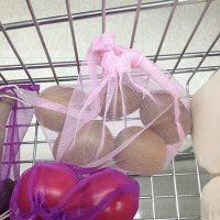 Nylon eco-friendly netting grocery bags 4
