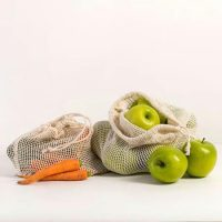 Organic cotton mesh produce bags 4