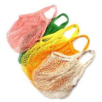Reusable mesh shopping bag for fruit storage 1