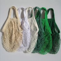 Reusable mesh shopping bag for fruit storage 2