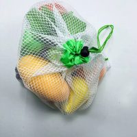 Reusable polyester mesh bags for fruit vegetable 1