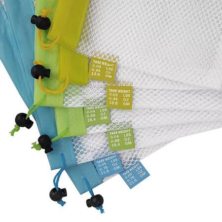 Reusable polyester mesh bags for fruit vegetable 4