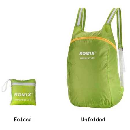 Romix foldable polyester outdoor backpack bag 2