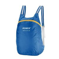 Romix foldable polyester outdoor backpack bag 4