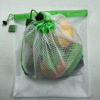 Washable polyester bags with drawstring 1