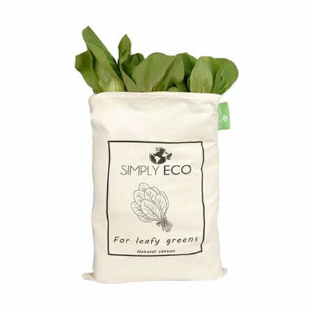 Custom printed organic cotton muslin bags 1