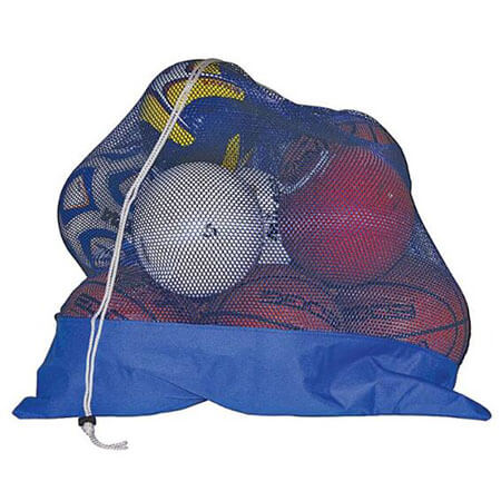 Mesh ball bags with canvas bottom 1
