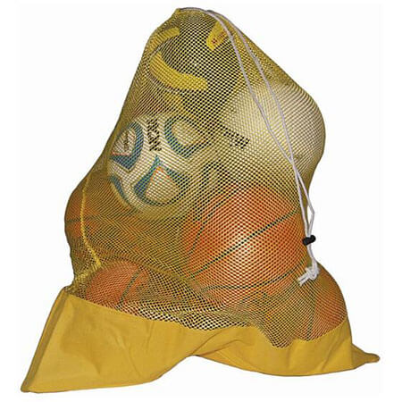 Mesh ball bags with canvas bottom 3