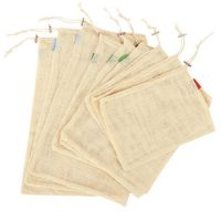 Organic cotton net bags set 2