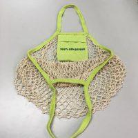 Cotton mesh bag with small bag 4
