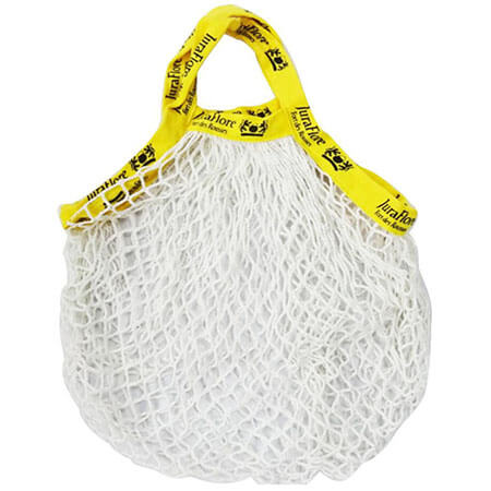 Cotton woven shopper bags with logo on strap 1