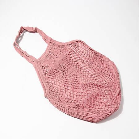 Mesh shopping bag with inner 4
