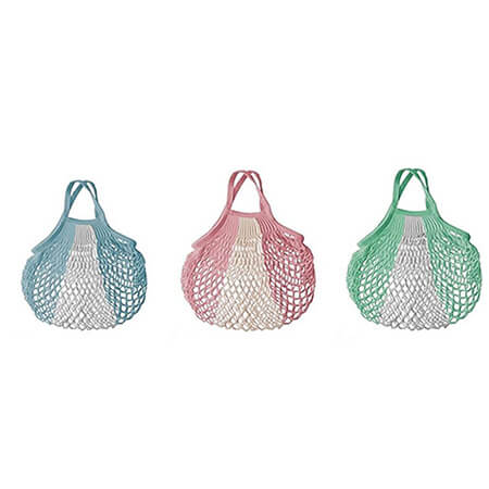 Multicolor string net shopping bags 4